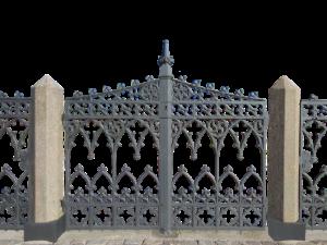 Hochwertiges Schmiedeeisen Tor